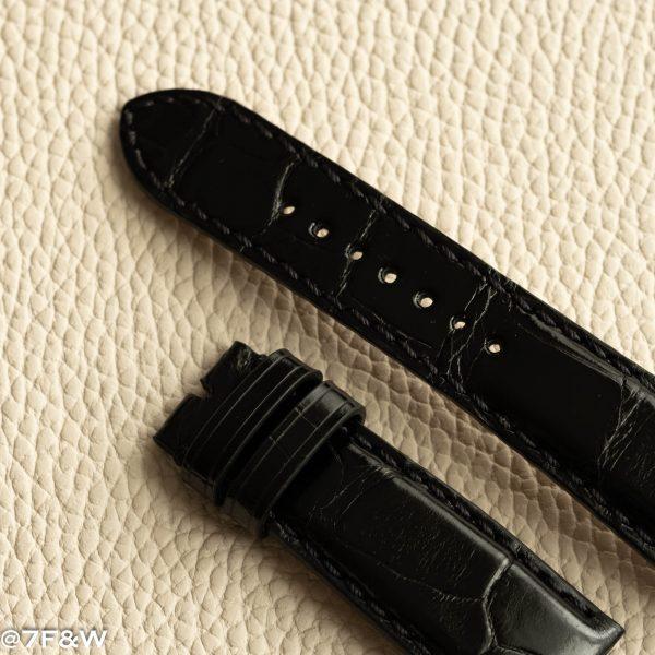 alligator deployant watch strap