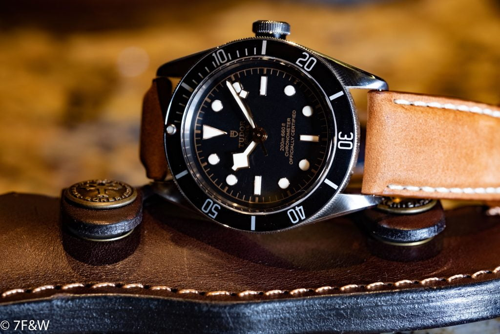 Tudor Black Bay with 7Friends&Watches strap