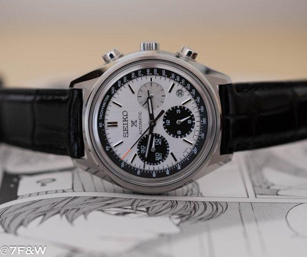 black luxury watch strap