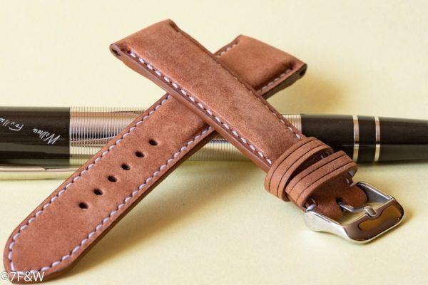luxury padded watch strap