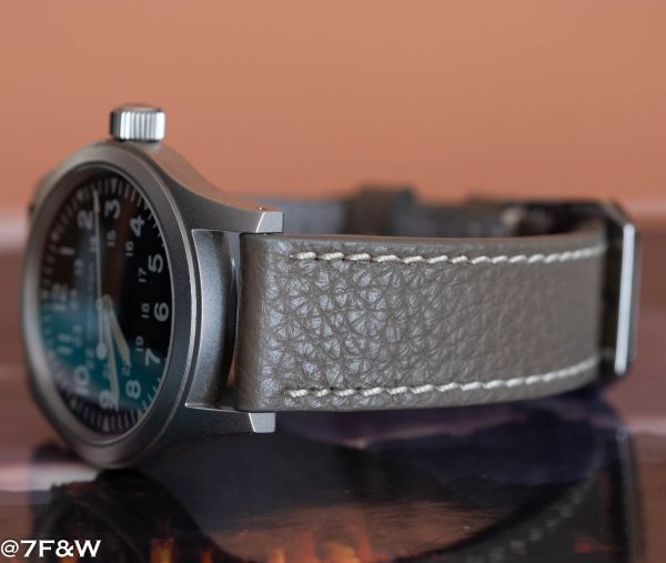grey leather watch strap 4