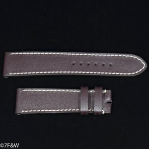 Rotten tobacco leather watch strap