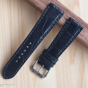 deep blue alligator watch strap