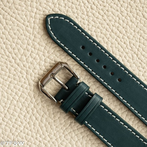 turquoise leather watch strap