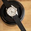 black saffiano watch strap